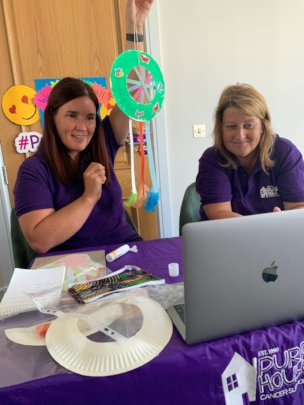 Purple House Online Children's Art Therapy