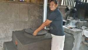 Norma Elena's new stove
