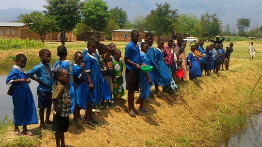 Fish to Feed HIV affected families in Malawi