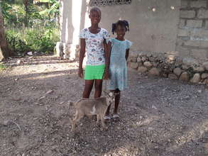 Your gift benefitted Angeline (left) and Naama!