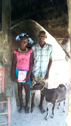 The Amazan family's stove where they bake bread