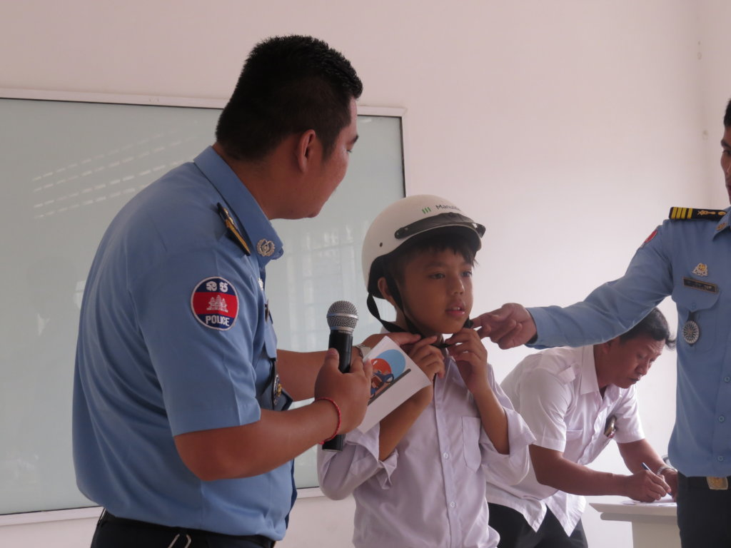 Article 4: Cambodia Traffic Police