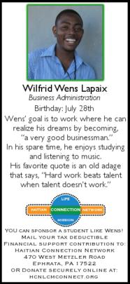 """Wilfrid """"Wens"""" Lapaix"""