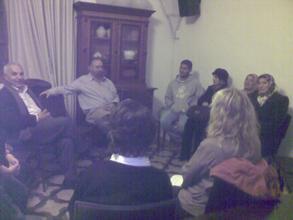 A group conversation