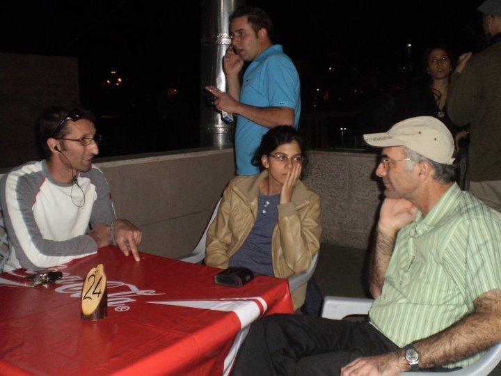 Conversation during supper