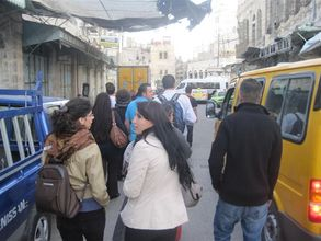 Together in the streets of Hebron