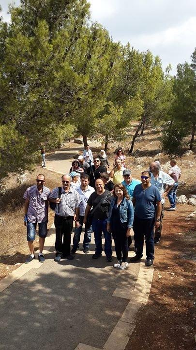 Together near Nazareth