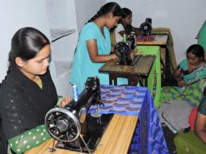 Ngo India for poor women providing skills training