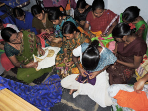 Sponsorship of sewing training to poor girls women