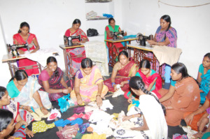 Donation to Poor Women by giving skills Training