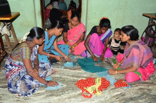 Creation of Sustainable livelihoods for poor women