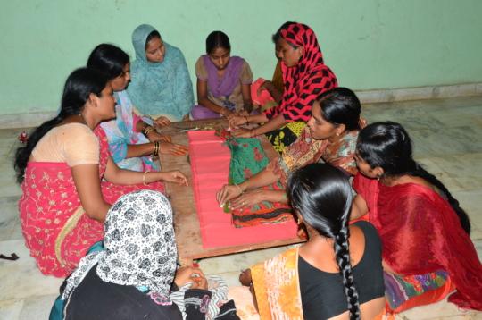 Women development program in andhra pradesh
