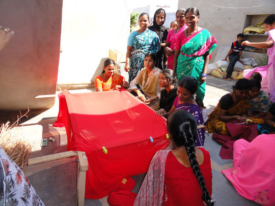 Help Women by Providing Tailoring Training