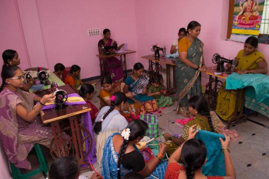 tailoring fashion designing training for destitute