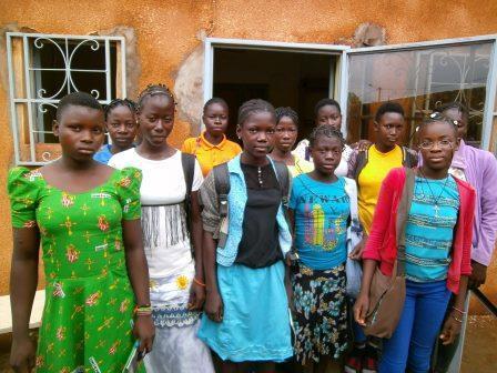 Participants pose for a group photo