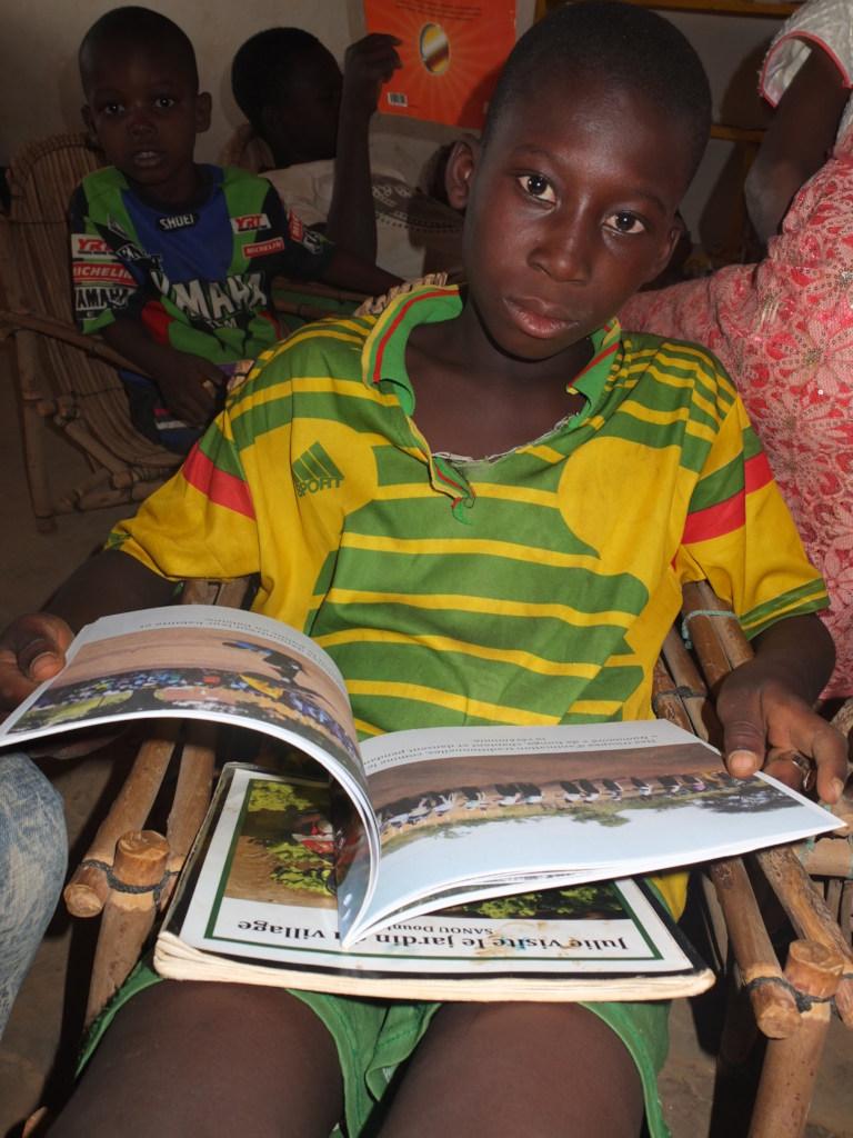 Reader in Sebba library