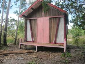 A new pink house for SEPALI watchman and family