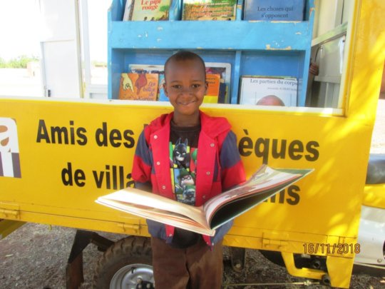 Kids look forward to the mobile library visits