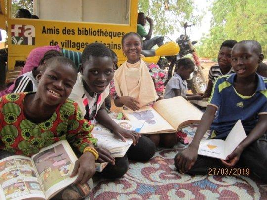 Transport Books through Rural Africa on Motorbike