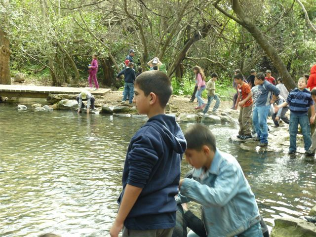 Students in Shagor Stream