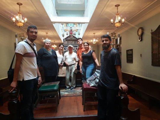 Greek Synagogue visit