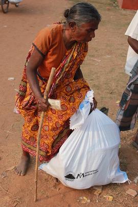 International Medical Corps hygiene kit