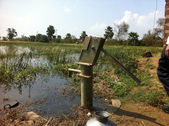 Submerged Hand Pump