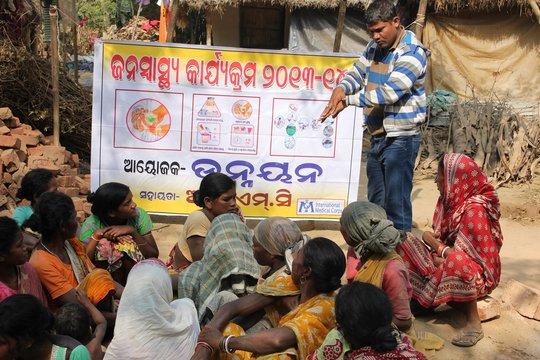 Hygiene Education Session by Unnayan