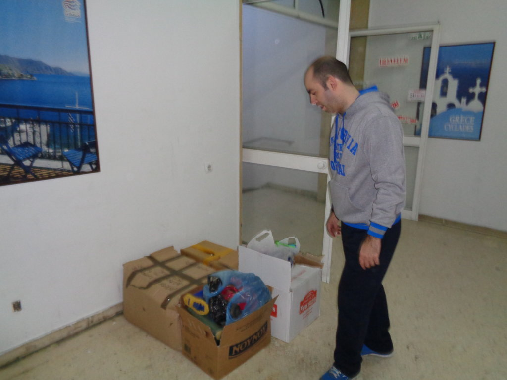 DELIVERY OF EMERGENCY RELIEF PACKAGES