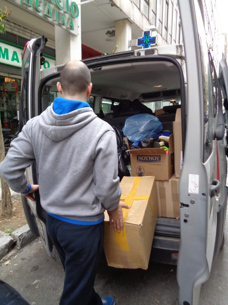 EMERGENCY PACKAGES LEAVING FROM OUR WAREHOUS