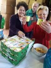 FAMILIES FIRE VICTIMES ENJOY OUR RELIEF PACKAGES