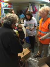 Distribution at our Nest of Solidarity