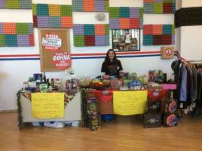 Our Easter Bazaar supported 70 families in need