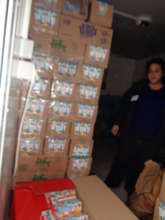 EMERGENCY PACKAGIES AND FOOD  IN OUR WAREHOUSE