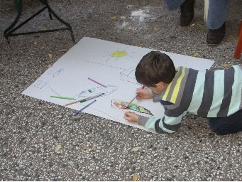 Children enjoying our creative workshops