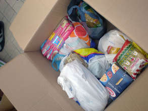Our emergency relief food package