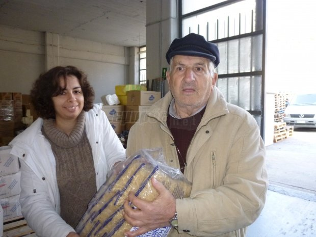 Emergency Relief Packages to 4,750 Greek Families