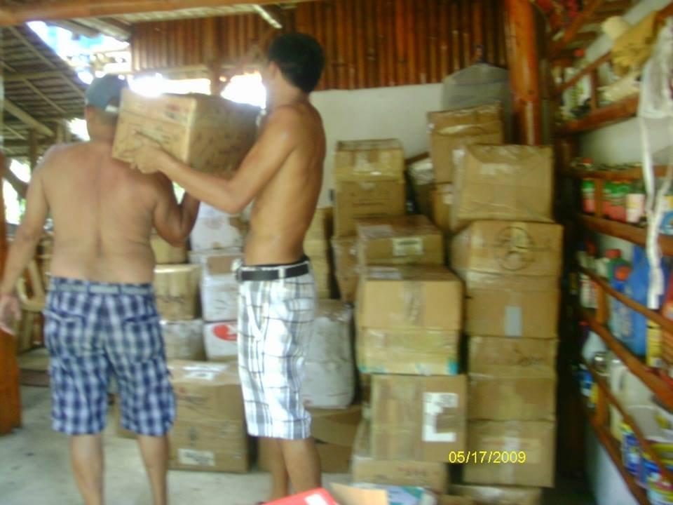 AAI warehouse of school supplies Iloilo