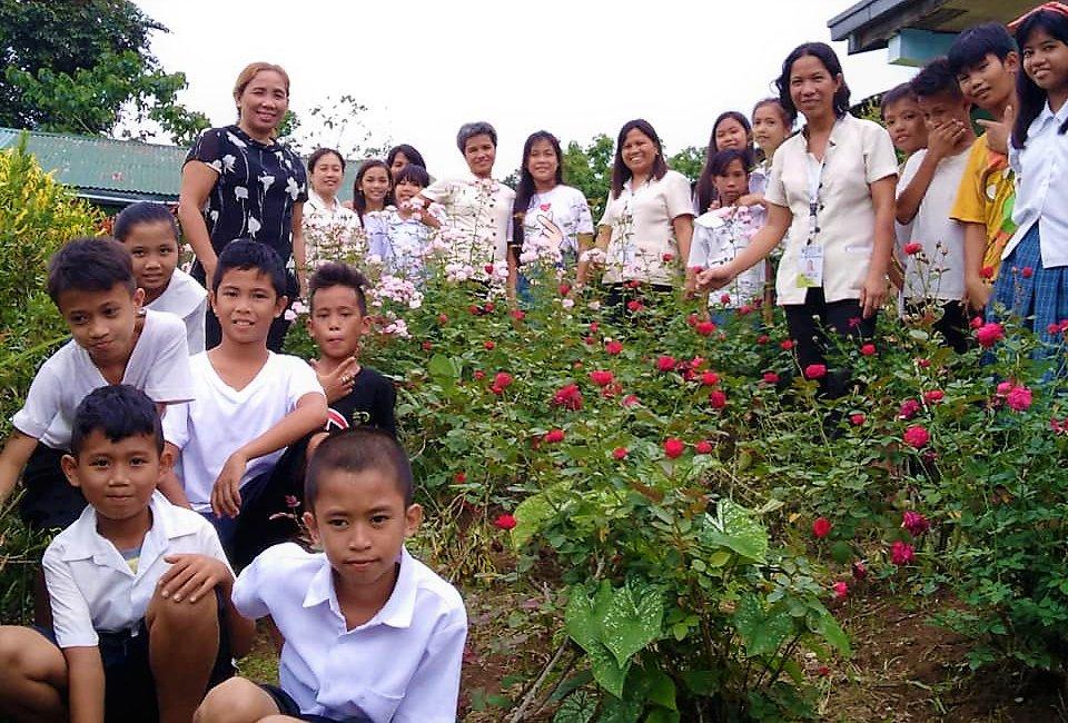 Celebrating the garden at Catig Lacadon