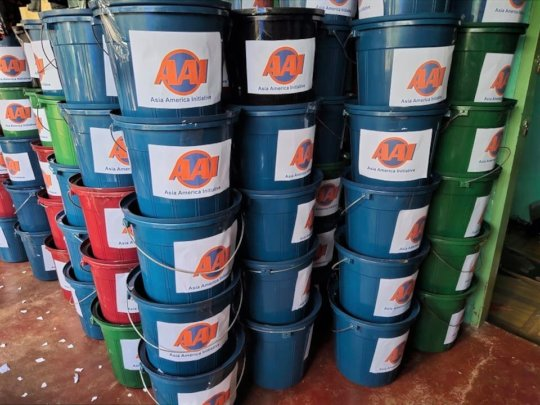 AAI pails have many uses after disaster