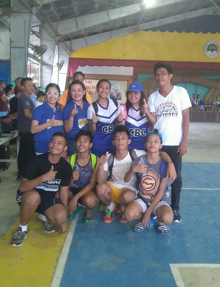 Cuartero Natl HS Championship badmitton team