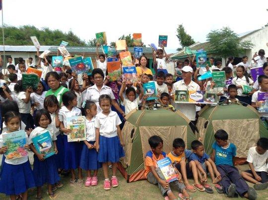 Gomeri Elementary School in Batad, Iloilo