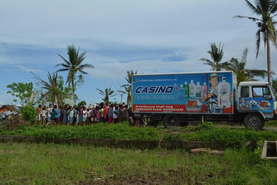 AAI-OWI-IPI relief truck arrives