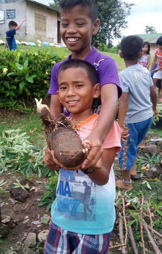 School Garden Angub Elementary School