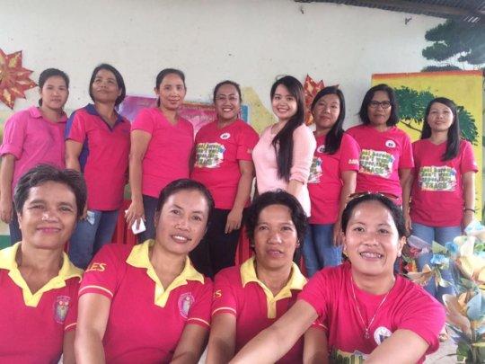 Celebrating Natl Teachers Day at Aurora-Araneta ES