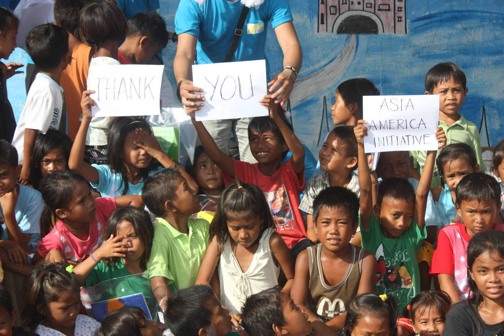 children on Baliguian grateful to AAI & GG donors