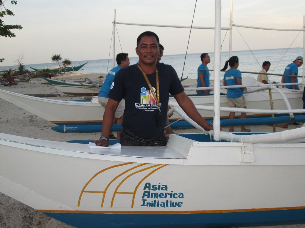 Baliguan Island Fishing coordinator Mr. Zacarias