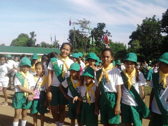Girl Scout Jamboree in Batad, Iloilo
