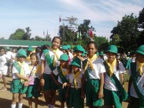 Girl Scout Jamboree in Batad, Iloilo