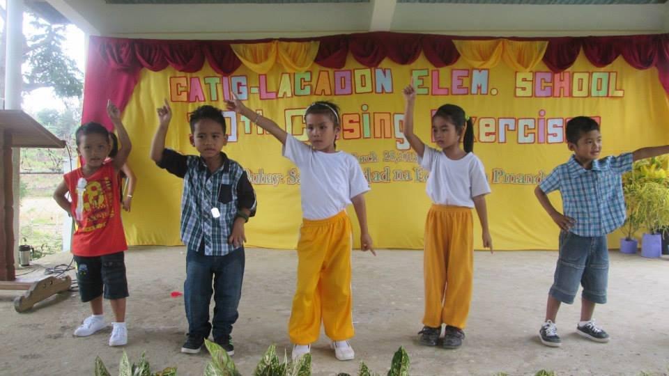 performance at Catig-Lacadon Elementary